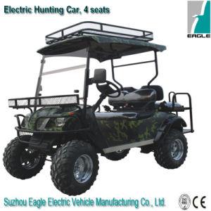 Buggy de caça elétrico. Dois assentos, Buggy de golfe, Buggy fora da estrada, ATV