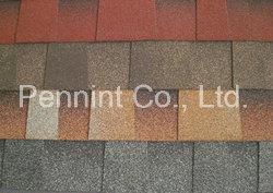 Bunte Asphalt-Schindeln für Dach-Bedeckung und die Imprägnierung