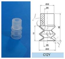 Diametro speciale 12mm di Customize Pneumatic Parte Small Suction Cups per Carrier