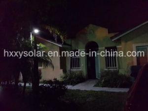 LED solare Light per Residential Area, giardino Light di Pathway Motion Senor 6W Outdoor Solar Street Light 6W Solar