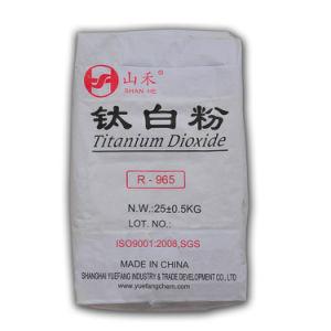 Pigmento Rutilo de dióxido de titânio (R 965) em pó Classic