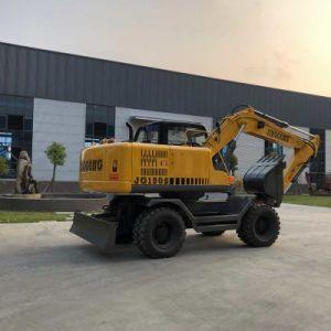 Excavadoras de ruedas de 13 toneladas para el sitio de construcción