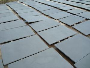壁のための卸し売り屋外の灰色の黒いフロアーリングのスレートのタイル