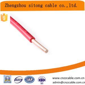 Bt 450/750V no fio do fio elétrico com isolamento de PVC