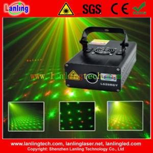 Мерцание света лазера /Диско лазерного луча и DJ лазера