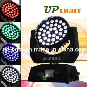 ズームレンズ機能36*10W RGBW 4in1 LED Movinヘッド