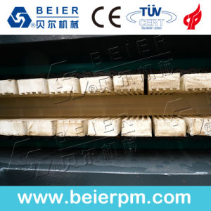 Extrudeuse plastique- bois (WPC) PE/PP/profil de fenêtre en PVC/Plafond/Conseil/Edge/Feuille de baguage/ Ligne de production d'Extrusion de tuyau
