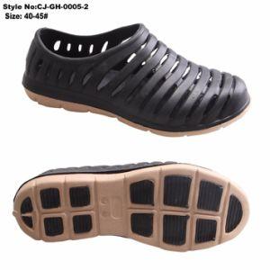 Caisson en plastique dure Fancy EVA de l'eau de Sabots Chaussures pour hommes