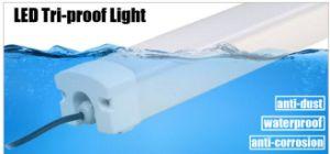 Factory 30W/40W/60W luz del tubo de aluminio de 4pies+PC resistente al agua// antipolvo LED antisepsia