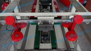 Caja de cartón plegado automático y sellado de la máquina (CS-100A)