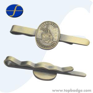 De promotie Douane maakt de Zilveren Lege Verbindingsstangen van het Metaal in reliëf (FTTB2605A)