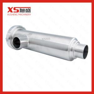 setaccio angolare del filtrante del morsetto sanitario Ss304 di 25.4mm con lo schermo perforato del piatto