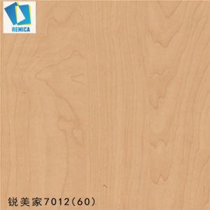 Dekoratives HPL lamellenförmig angeordnetes Blatt des feuerfesten Wand-dekorativen Innenvorstand-für Tür-Haut