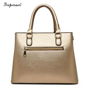 Sacchetto poco costoso del sacchetto di Tote delle signore più facile per la borsa di cuoio dell'unità di elaborazione della corrispondenza