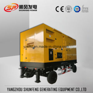 Премьер-250Ква 200квт для мобильных ПК тип прицепа электрического питания дизельного генератора
