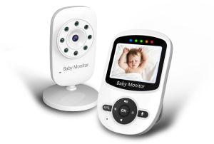 2.4G 무선 디지털 색깔 LCD 아기 모니터 야간 시계를 가진 영상 아기 모니터