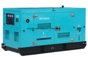 motore diesel di potere di Ricardo del generatore di 80kw 100kVA con l'alternatore di Stamford