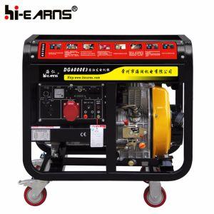Tipo di blocco per grafici aperto raffreddato ad aria generatore diesel (DG6000E3)