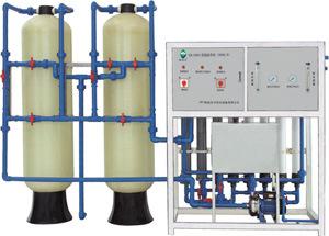 De Installatie van de Verwerking van het mineraalwater/Machine (UF 1T/H aan 5T/H)