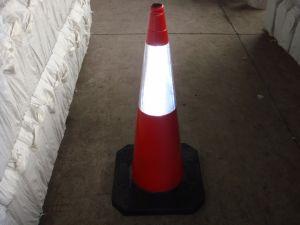 75cm caoutchouc résistant cônes de circulation (CC-A27)
