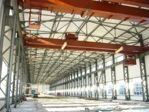 Prefabricados de acero space frame almacén de la construcción de la estructura de acero