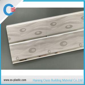 Plafond en PVC de 10 pouces de panneaux muraux ignifugé avec 7mm épaisseur