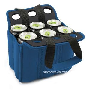 Il dispositivo di raffreddamento della bottiglia 6 pacchetti può dispositivo di raffreddamento per la maniglia Easyly