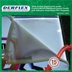 熱くか冷たい薄板にされた表示支払能力があるインクによってバックライトを当てられる屈曲の旗