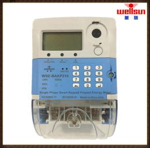Tester di energia pagato anticipatamente tastiera dello Sts di monofase