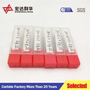 アルミニウムまたはプラスチック機械化のための炭化物CNCのルータービット
