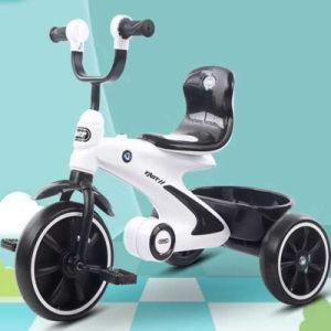 2020, el último bebé de tres ruedas con música y luz para niños juguetes y regalos Bt-19