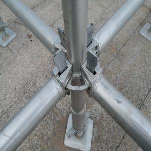 Galvanización en caliente del tubo de acero de andamio Ringlock