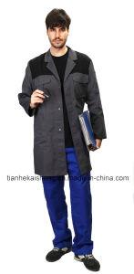 Les hommes manteaux contrastées/ Vêtements de travail dans 100 % coton sergé