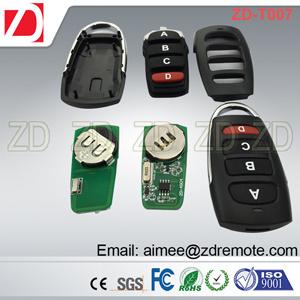 Controle remoto universal 433MHz da Porta da Garagem Interruptor sem Fios