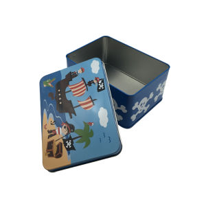 カスタム印刷の金属の錫の容器を包む錫ボックス