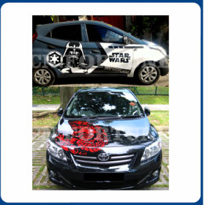 デジタル印刷のための車のステッカーの自己接着ビニールの良質