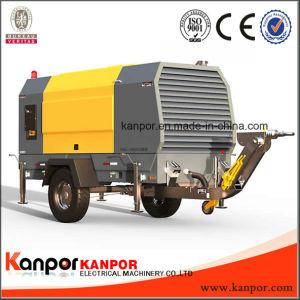 De gemakkelijke Bewogen die Diesel Genset van het Type van Aanhangwagen door Lovol Elektrisch Engine wordt aangedreven