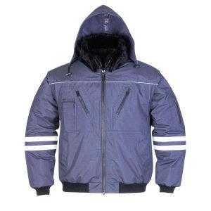 Au vent et imperméable occasionnel des vêtements pour hommes avec bande Relective