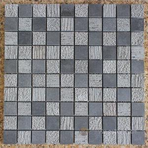 Het Mozaïek van China, de Steen van het Mozaïek van het Basalt, de Grijze Tegels van de Steen van de Lava van het Basalt