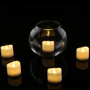 LED da bateria, a luz de velas LED decorativas Chama cor, simulação de velas decorativas livre de fumo
