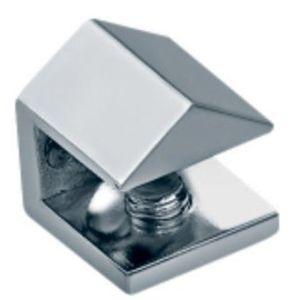 Bride en verre d'étagère de salle de bains de l'ajustage de précision en verre (FS-3054)