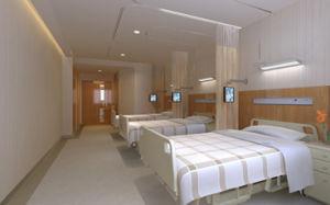 抗菌が付いている使い捨て可能な病院のカーテン