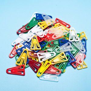 Plastik ein Form-Kleid-Klipps für Kleidung (CD020-2)