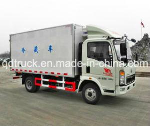 3 a 5 toneladas de carga geral, caminhão HOWO Light Truck