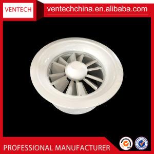 As Lâminas Ajustável de ventilação durante todo o teto difusor de turbulência