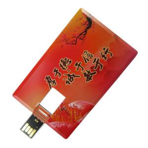 札入れUSBの名刺のペン駆動機構のメモリ8GB習慣のロゴ