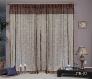 Organdy вышивкой шторки (JYB83)