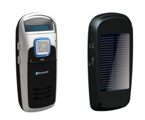 Manos Libres Bluetooth Car Kit A-6 Leer TF tarjeta con recarga solar