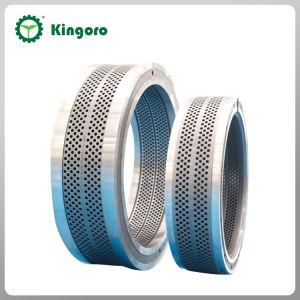 ステンレス鋼のリングは木製の餌機械で停止する