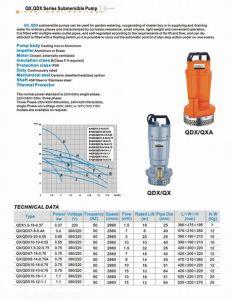 Pompa di Sumbersible (QX/QDX)